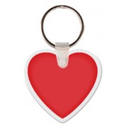 Keytags Soft Vinyl 1 Side Imprint